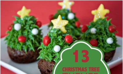 13 Christmas Tree Themed Crafts And Food