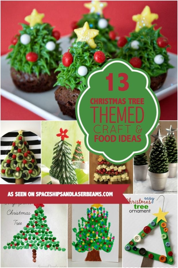 Christmas Tree Themed Craft Food Ideas For Kids