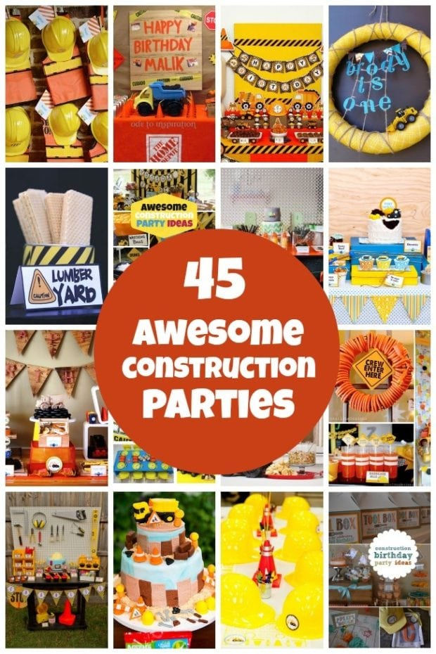 45 Construction Birthday Party Ideas Spaceships And