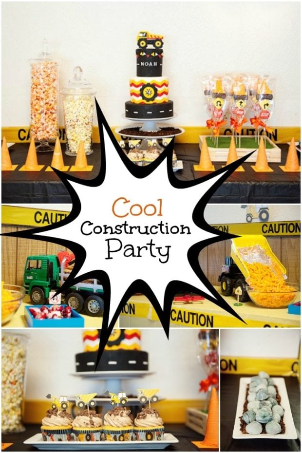 Cool Construction Birthday Party Ideas Spaceships And