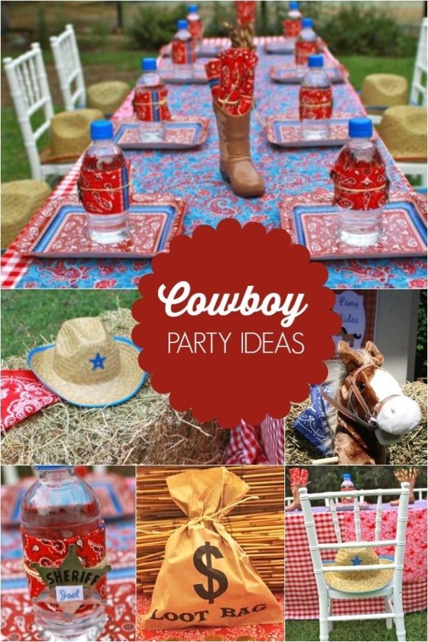 Giddy Up It S A Boy S Western Themed Cowboy Birthday
