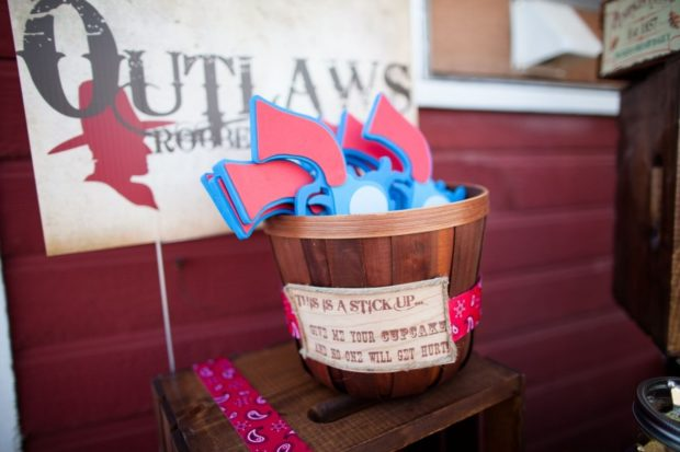Train Robbery Party Wild West Birthday Ideas