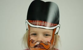 Cowboy Cool Beard Mask