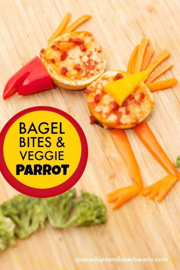 Easy To Make Kid S Snack Food Bagel Bite Animals