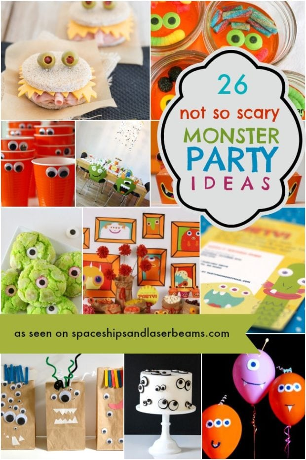 26 Cute Monster Party Ideas Your Guests Will Adore