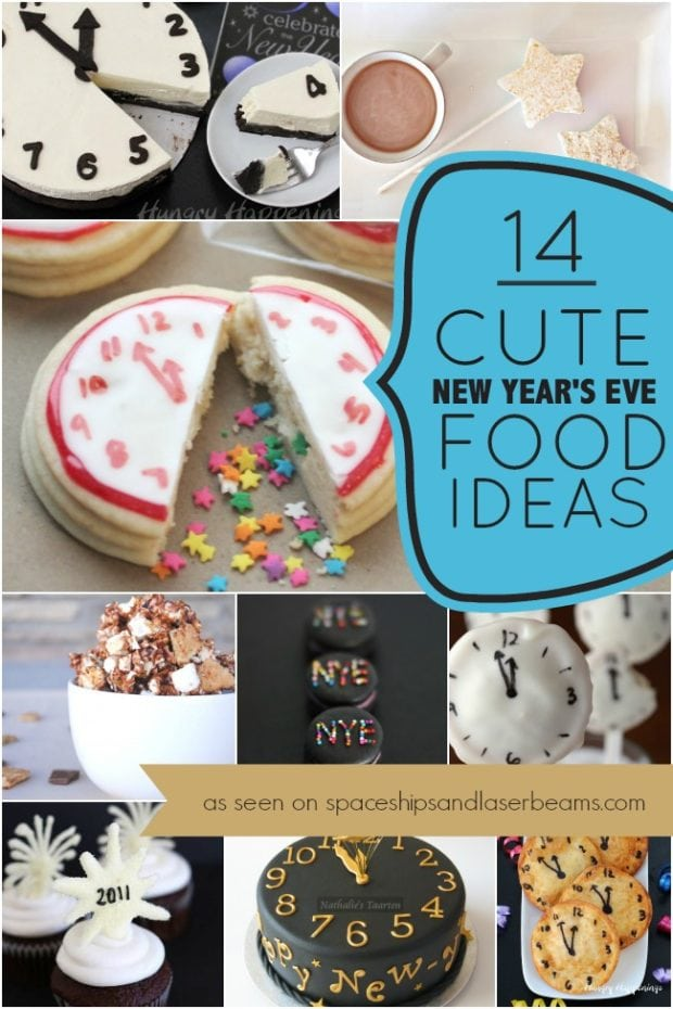Cute New Years Eve Food Ideas