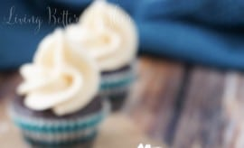Dark Chocolate Caramel Sea Salt Cupcakes 2