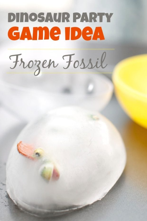 Dinosaur Party Game Frozen Fossils Spaceships And Laser
