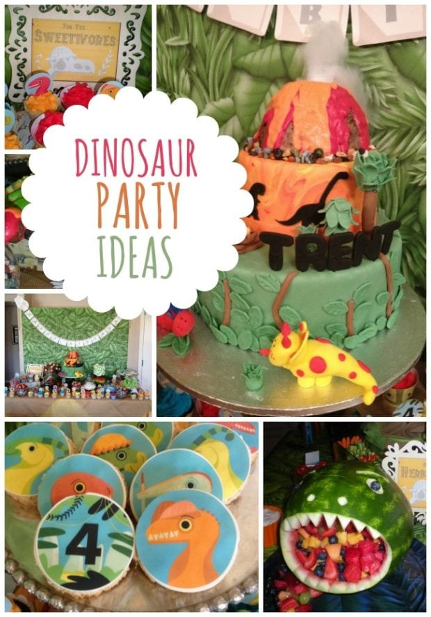 Dinosaur Birthday Party Texas Style Spaceships And Laser