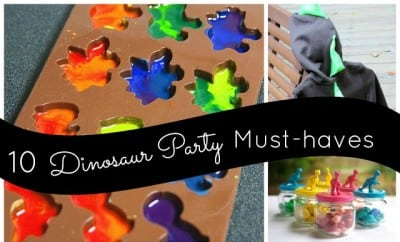 10 Dinosaur Party MustHaves Boy Birthday Ideas Spaceships and