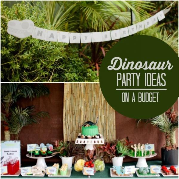 [Boy Bash] Dinosaur Birthday Party On A Budget
