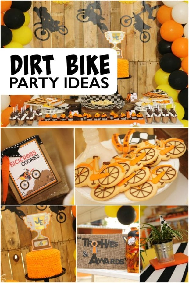 Dirt Bike Birthday Party Ideas