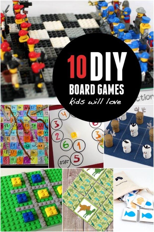 10 Diy Board Games Kids Will Love Spaceships And Laser Beams