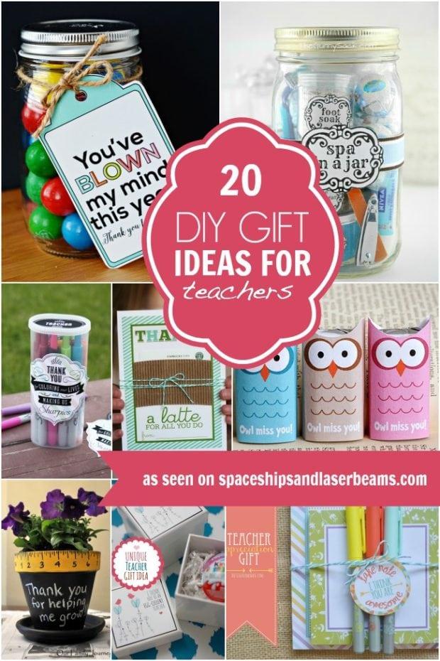 20 diy gift ideas for teachers spaceships and laser beams for Idea diy door gift