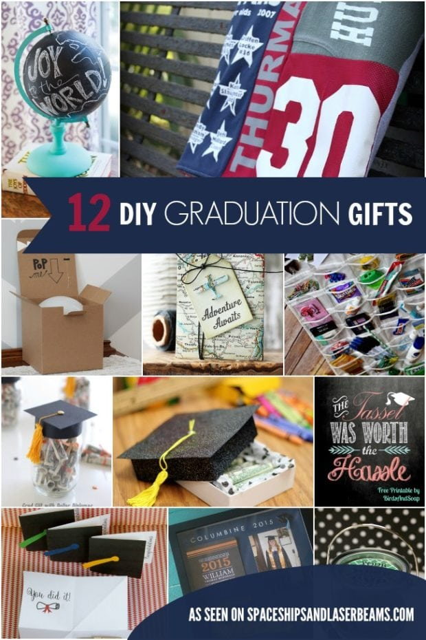 12 Inexpensive Diy Graduation Gift Ideas Spaceships And