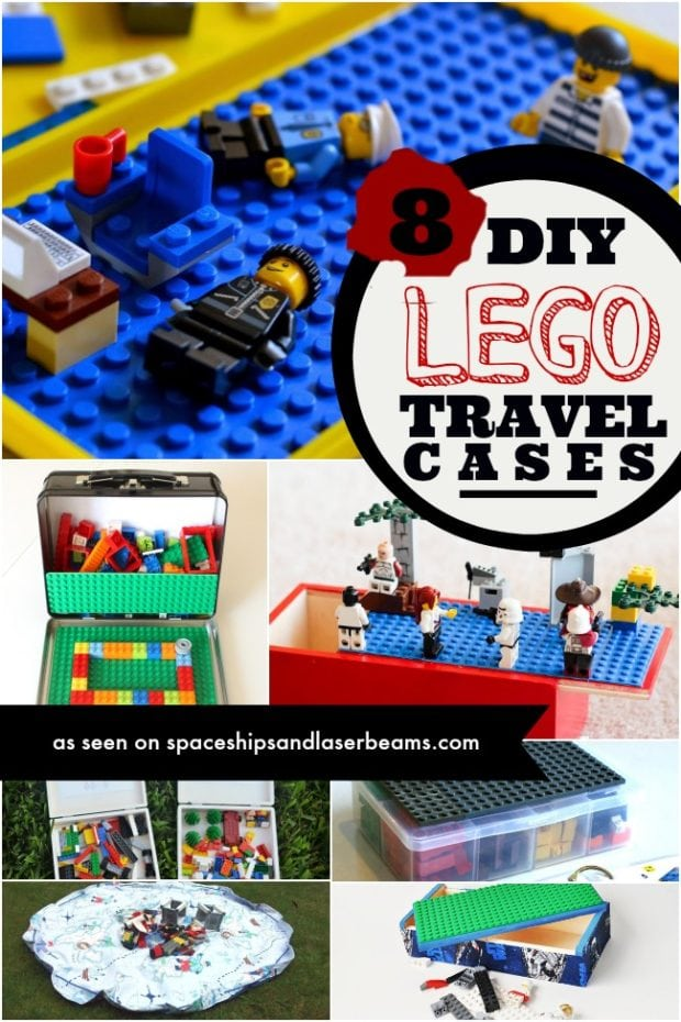 8 Diy Lego Travel Cases To Keep You Organized Spaceships