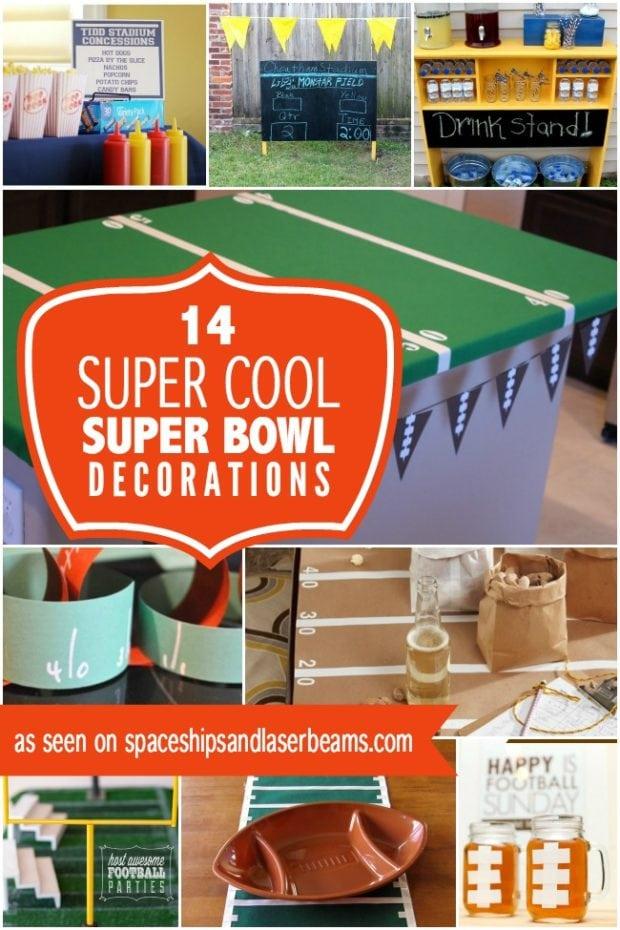14 Super Cool Super Bowl Party Decoration Ideas