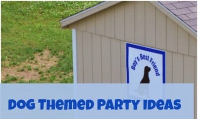 Dog Themed Birthday Party Decorations 39458
