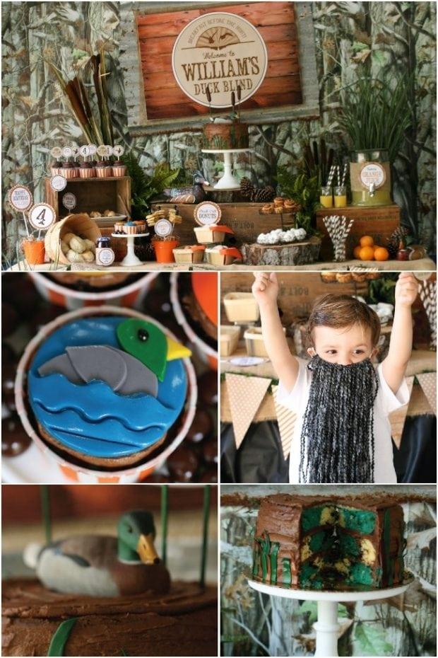 Duck Dynasty Themed Birthday Party Ideas
