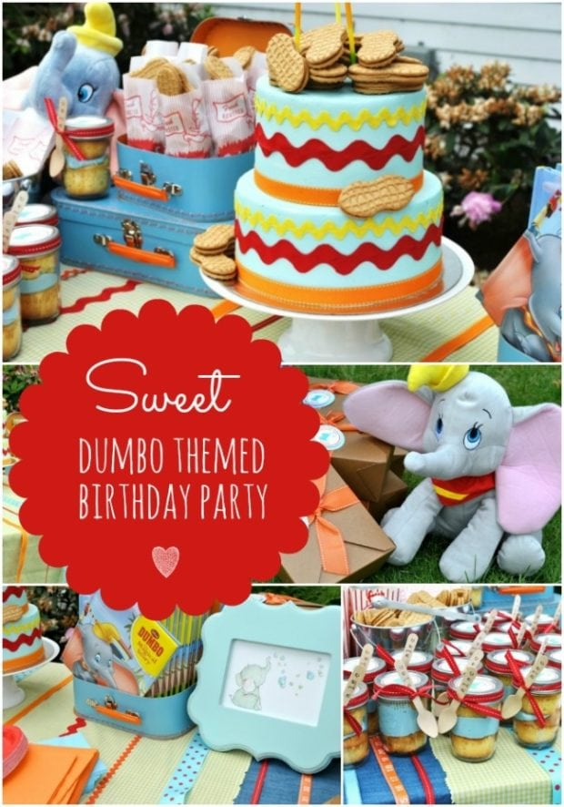 Dumbo Themed 3rd Birthday Party Spaceships And Laser Beams