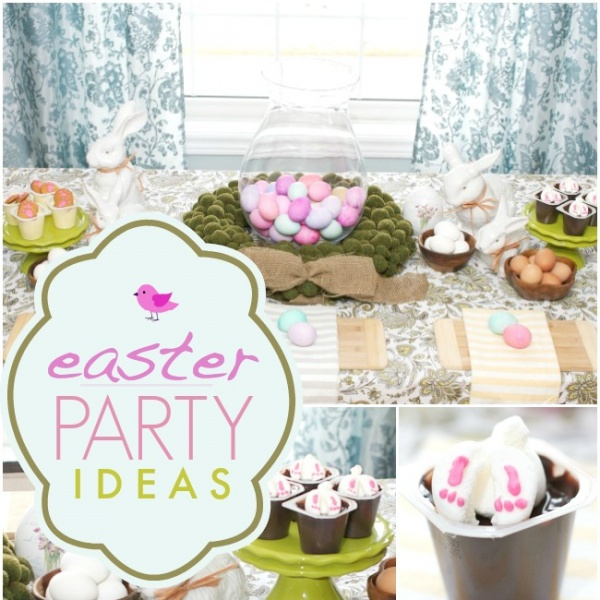 Easter Party Ideas & Easy To Make Desserts
