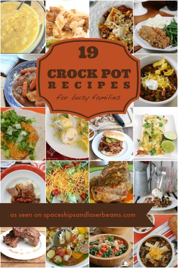 Eay Crock Pot Recipes