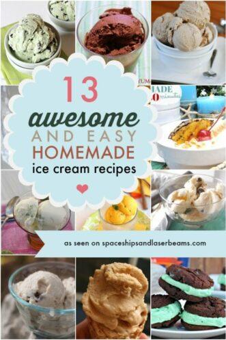 Easy No Machine Ice Cream Recipes
