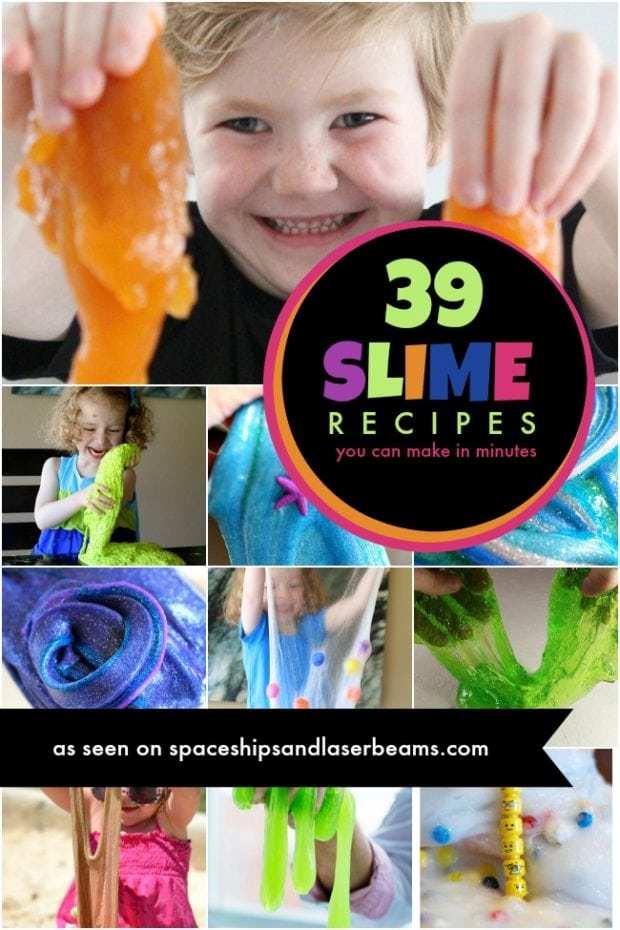 Kid S Party Activities Slime Recipes Spaceships And