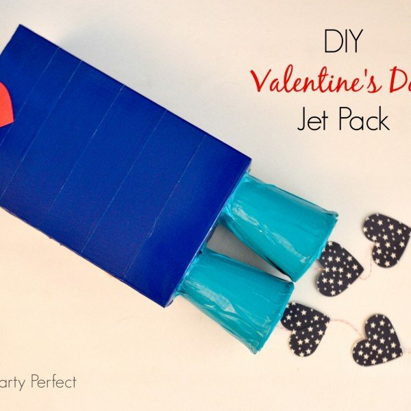 Diy Jet Pack For Valentine S Day Spaceships And Laser Beams