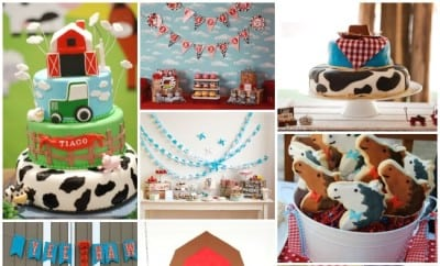Farm Themed Birthday Party Ideas Boysjpg