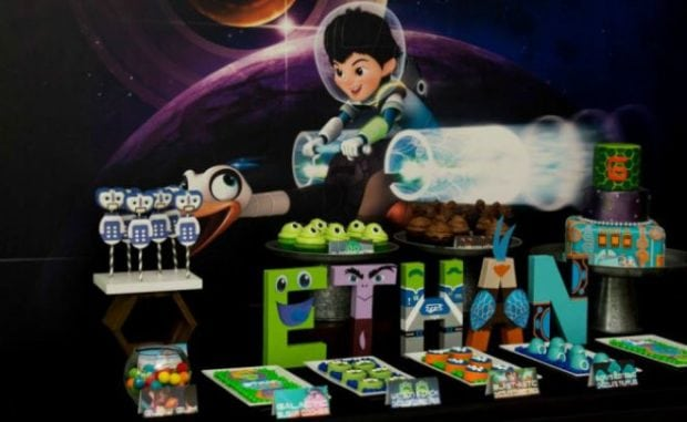 A Miles From Tomorrowland Inspired Boy S Birthday Party