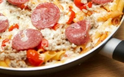 Pizza Penne Dinner Recipe