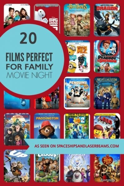 Films For Family Movie Night