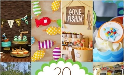 Fishing Themed Birthday Party Ideas Boysjpg