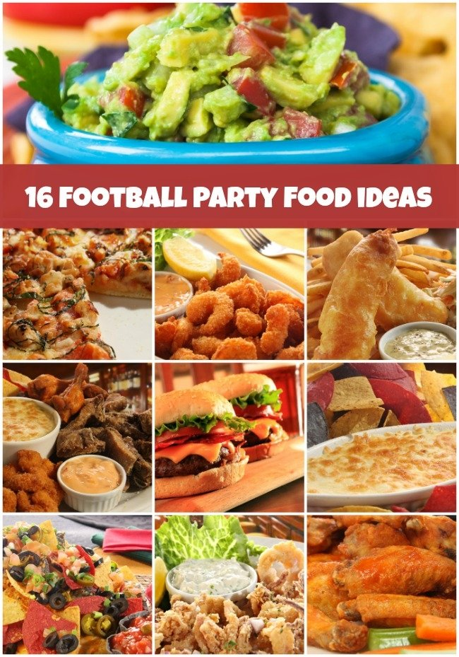 Football Party Ideas Easy Party Food Recipes Spaceships