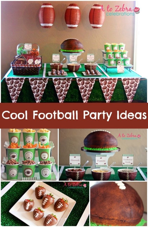 Football Birthday Party For Boys Of Any Age Spaceships