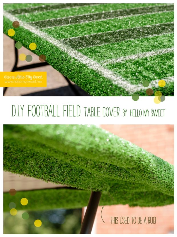 Boy S Football Party Diy Football Field Spaceships And