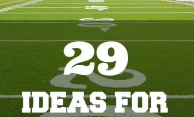 football party 29 ideas for super bowl decorations spaceships and laser beams - Football Decorations