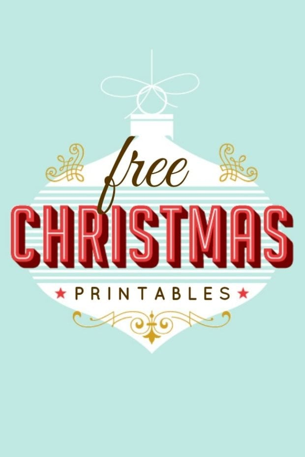 Influential image regarding free printable christmas