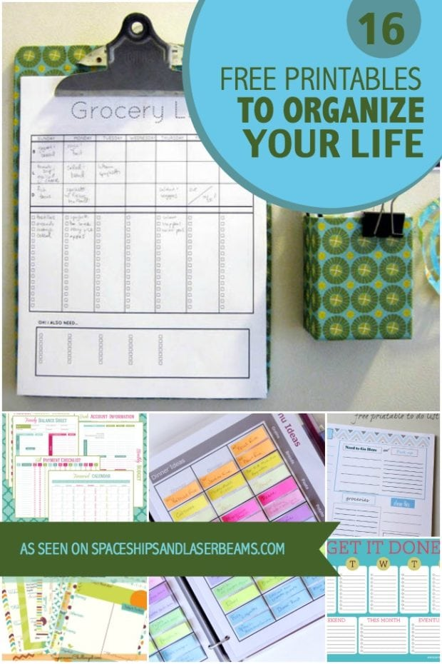 Home Office Organization Binders