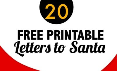 20 Free Printable Letters To Santa Templates | Spaceships And Laser Beams  Free Letters Templates