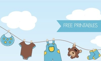 21 Free Boy Baby Shower Printables - Spaceships and Laser ...
