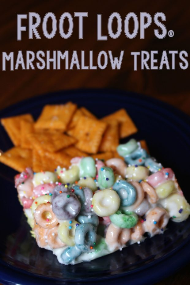 froot loops u00ae marshmallow treats  back2schoolready