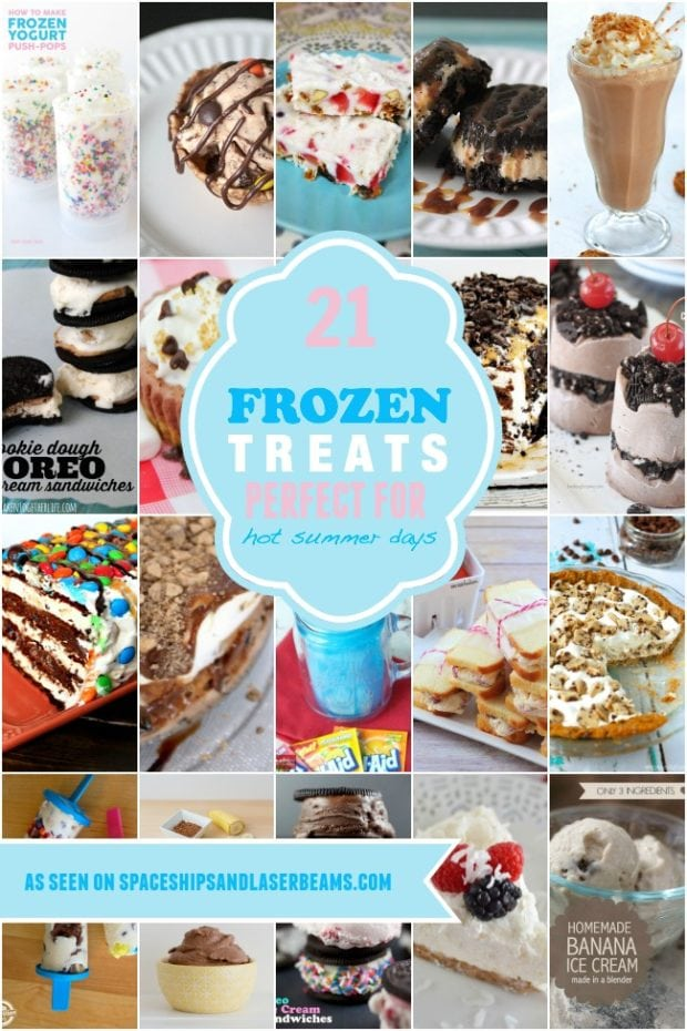 21 Frozen Treats Perfect For Hot Summer Days from Spaceships and Laser Beams