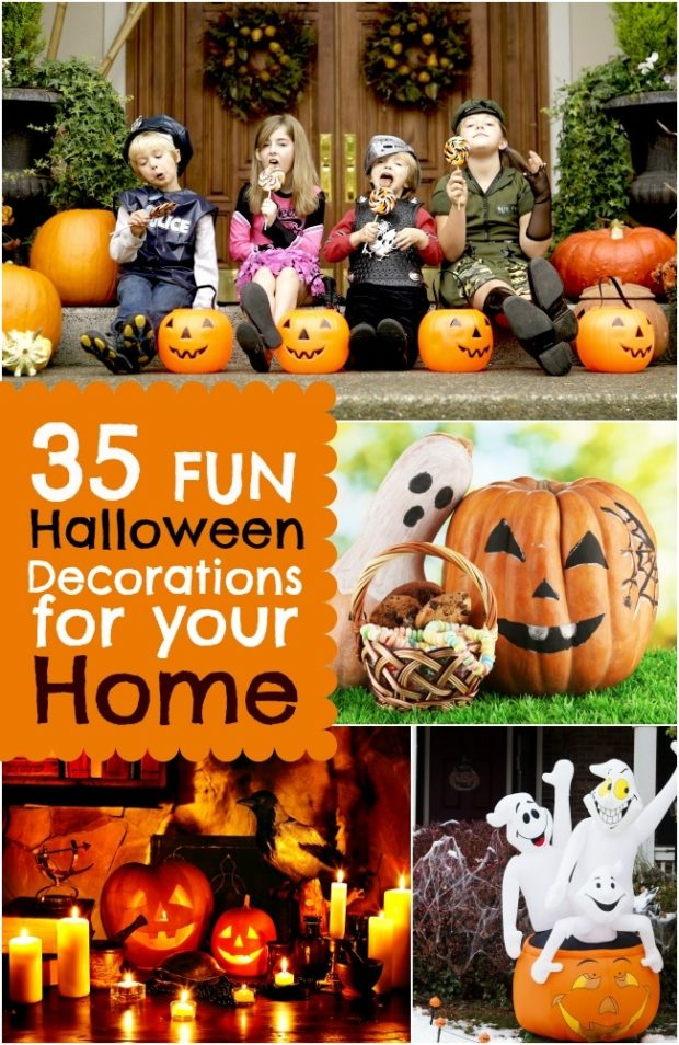 35 fun halloween decorations for your home spaceships and laser beams - Interesting halloween ideas home ...