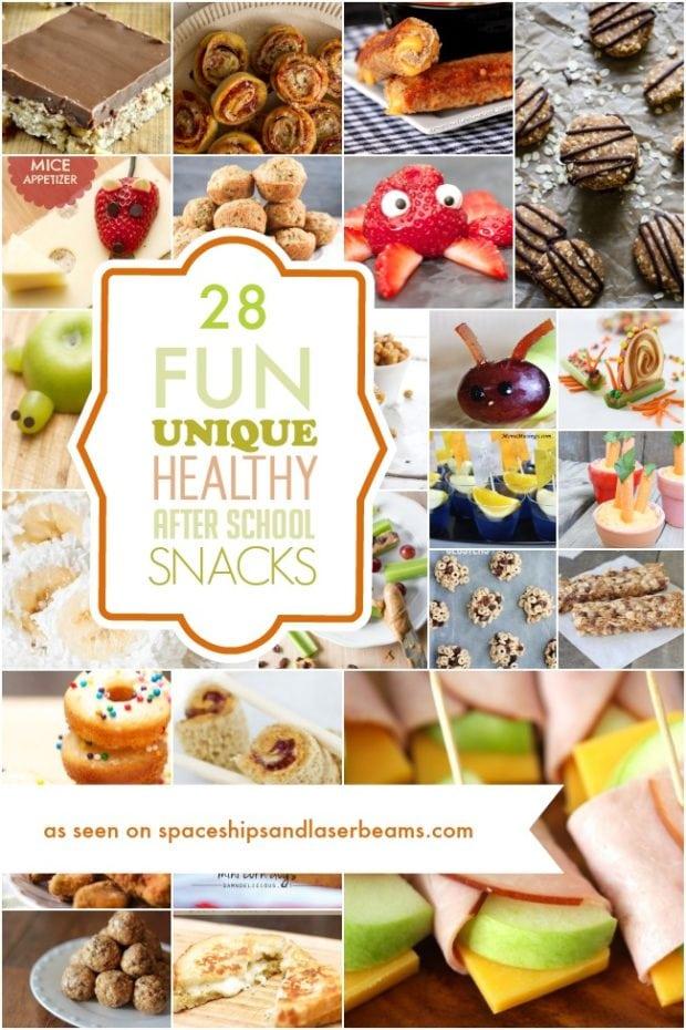 28 Fun Unique And Healthy After School Snacks