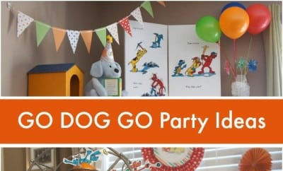Go Dog Go Book Themed Boy S Birthday Party Spaceships