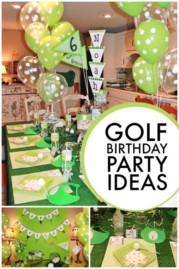 Golf Birthday Party Ideas Boysjpg