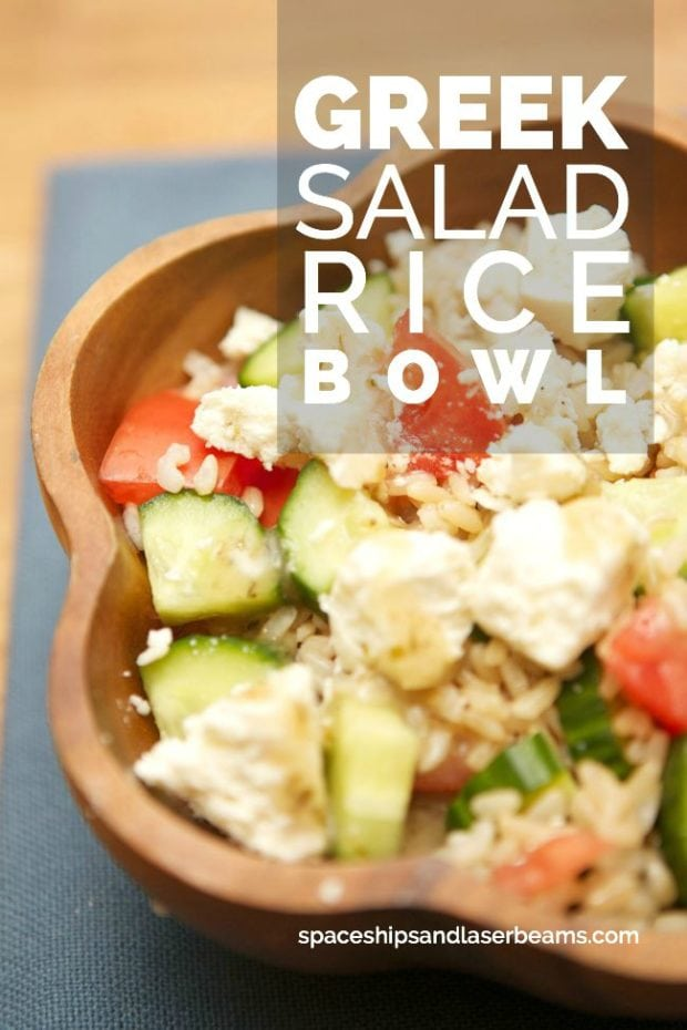 Salad Rice Bowl