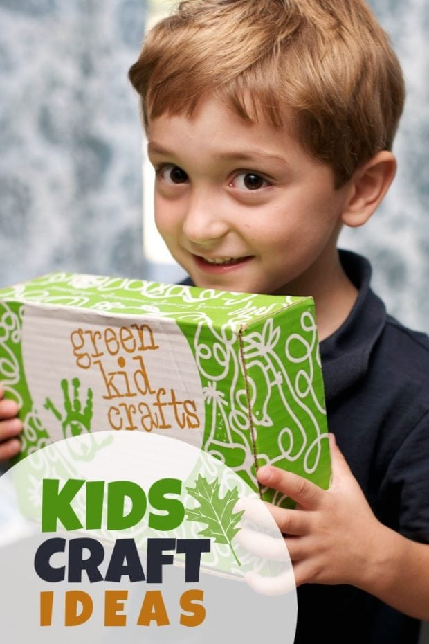 Kid S Craft Ideas With Green Kid Crafts Spaceships And